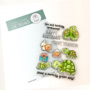 Gerda Steiner Designs Clear Stamps - Turtley Great