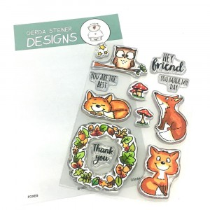 Gerda Steiner Designs Clear Stamps - Foxes