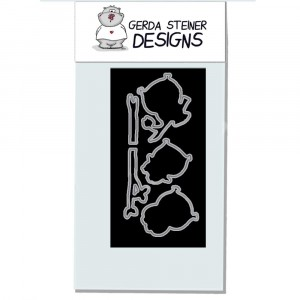 Gerda Steiner Designs - Owl Rather Be With You Stanzschablonen-Set