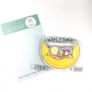 Gerda Steiner Design Clear Stamps - Hello Little One 3x4