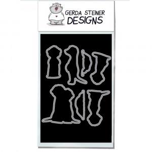 Gerda Steiner Designs - Meerkats on the Lookout! Stanzschablonen-Set
