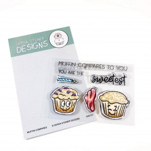 Gerda Steiner Design Clear Stamps - Muffin Compares to You 3x4