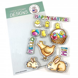 Gerda Steiner Designs Clear Stamps - Chicks and Bunnies 4x6