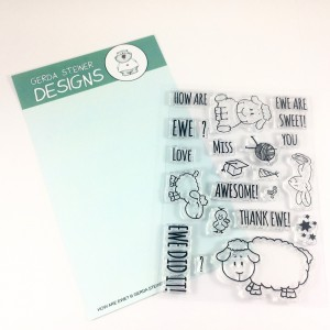 Gerda Steiner Designs Clear Stamps - How are Ewe?