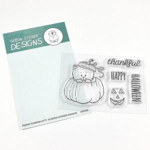 Gerda Steiner Designs Clear Stamps - Pumpkin Kitten