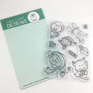 Gerda Steiner Designs Clear Stamps - Peeking Easter Friends