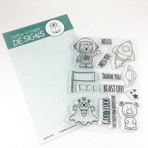 Gerda Steiner Designs Clear Stamps - Blast Off