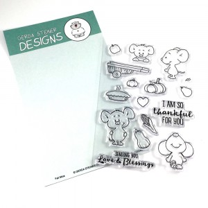 Gerda Steiner Designs Clear Stamps - Fall Mice