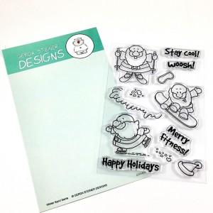 Gerda Steiner Designs Clear Stamps - Sportsy Santa