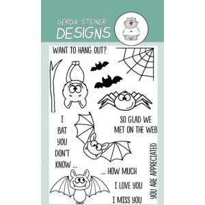 Gerda Steiner Designs Clear Stamps - Bats