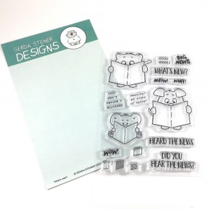 Gerda Steiner Designs Clear Stamps - What's new?