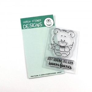 Gerda Steiner Design Clear Stamps - Warm Fuzzies