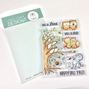 Gerda Steiner Designs Clear Stamps - Fall in Love