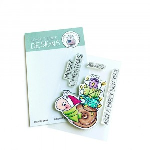 Gerda Steiner Design Clear Stamps - Holiday Snail