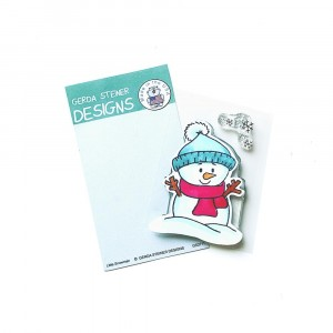 Gerda Steiner Design Clear Stamps - Little Snowman