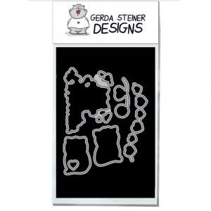Gerda Steiner Designs - Valentine Cats Stanzschablonen-Set