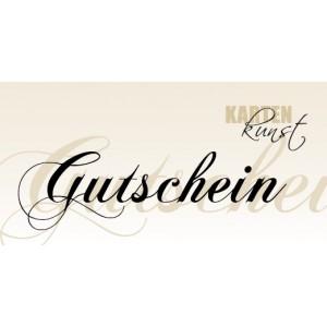 Karten-Kunst Gutschein 15 €