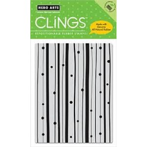 Hero Arts Cling Stamps - Dots and Stripes