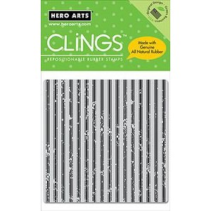 Hero Arts Cling Stamps - Canvas Stripes