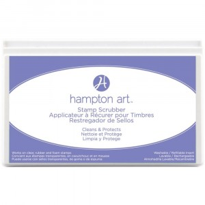 Hampton Art Stamp Scrubber Cleaning Pad & Case