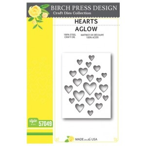 Birch Press Stanzschablone - Hearts Aglow