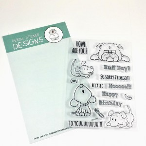 Gerda Steiner Designs Clear Stamps - Howl are you Puppy?