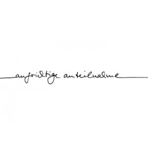 """Karten-Kunst Schriftzug """"Aufrichtige Anteilnahme"""" (Anne)"""