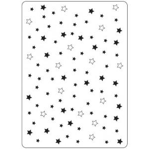 Crafts Too Hintergrund-Prägeschablone - Twinkle Stars
