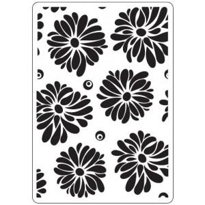 Crafts Too Hintergrund-Prägeschablone - Flowers