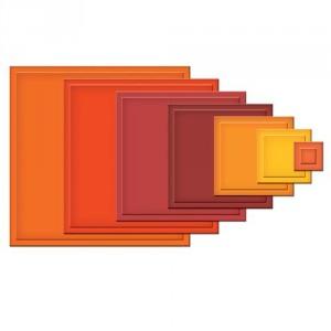 Spellbinders Nestabilities - Classic Squares Large