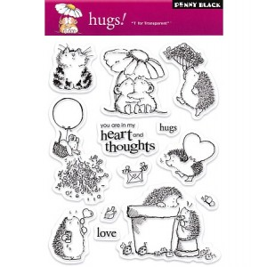Penny Black Clear Stamps - Hugs