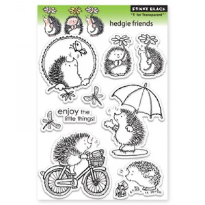 Penny Black Clear Stamps - Hedgie Friends