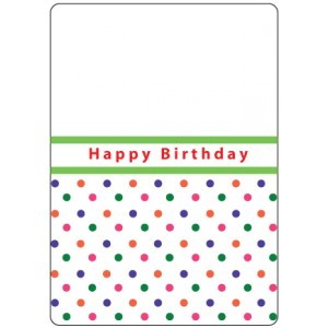 Crafts Too Hintergrund-Prägeschablone - Happy Birthday