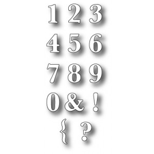Memory Box Stanzschablone - Classic Numbers