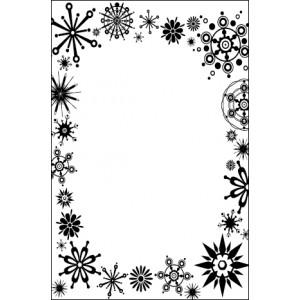 Crafts Too Hintergrund-Prägeschablone - Frost Frame