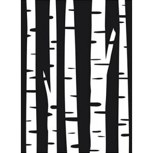 Darice Hintergrund-Prägeschablone - Birch Tree