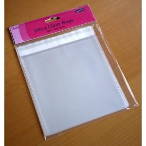 Transparente Kartenhüllen 25 Stück - 14,5x14,5cm