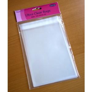 Transparente Kartenhüllen 25 Stück - 12x16,7cm