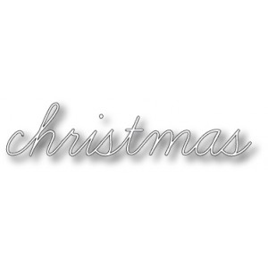 Memory Box Stanzschablone - Christmas Script