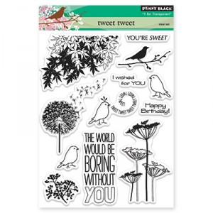 Penny Black Clear Stamps - Tweet Tweet
