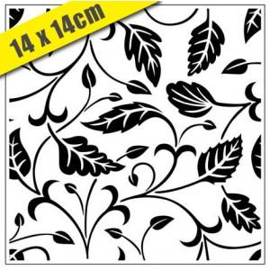 Crafts Too Hintergrund-Prägeschablone - 3106 Leafy Branches 14 x