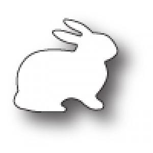 Poppy Stamps Stanzschablone - Fluffy Bunny