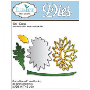 Elizabeth Craft Design Stanzschablone - Daisy