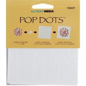 All Night Media Pop Dots - Rund 0,5 Inch
