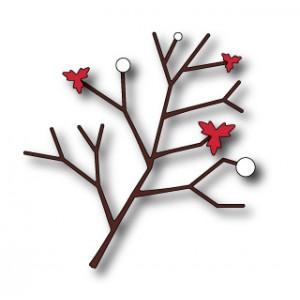 Memory Box Stanzschablone - Flowering Winterberry