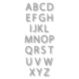 Memory Box Stanzschablone - Urban Uppercase Alphabet