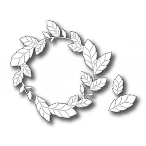 Poppy Stamps Stanzschablone - Thicket Wreath