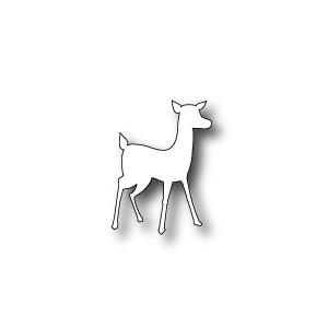 Poppy Stamps Stanzschablone - Woodland Fawn (klein)