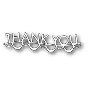 Memory Box Stanzschablone - Thank You Garland