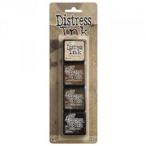 Distress Mini Ink Stempelkissen Kit #3